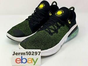 Nike Mens Joyride Run Flyknit Running Shoes Black/Yellow Size 10 AQ2730 010 Rare