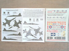 "CF-116/CF-5A/D 2-SEATER FREEDOM FIGHTER ""CAF"" BELCHER BITS DECALS 1/48"
