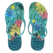 Havaianas Brazil Women`s Flip Flops Tropical Size Brazil 41 42 be009f4aad9