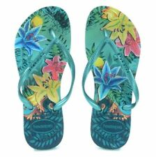 Havaianas Brazil Women`s Flip Flops Tropical Size Brazil 41/42