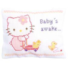 VERVACO  0150203  Hello Kitty dort ou est réveillée  Point de Croix  Compté