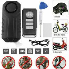 113dB Wireless Alarmanlage Fahrradalarm W/ Fernbedienung Sirene Diebstahlschutz