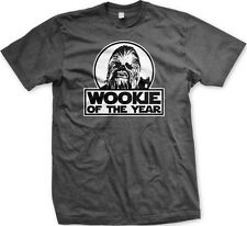 Wookie of the Year Star Wars Chewbacca Funny Humor Jedi Empire Meme Mens T-shirt