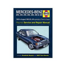 MERCEDES 124 série 2.0-3.2 ESSENCE 2.0-3.0 diesel 85-93 (C à K) Manuel Haynes