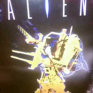 Aliens 1/12th die cast Power loader by Aoshima LIMITTED  BISHOP EDITION PIECE