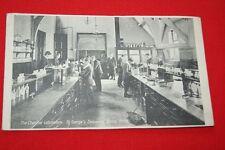 THE CHEMICAL LABORATORY SAINT GEORGE'S SECONDARY SCHOOL BRISTOL