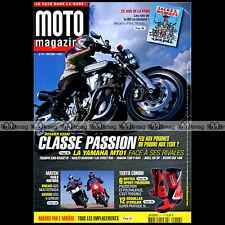 MOTO MAGAZINE N°217 DUCATI 620 MULTISTRADA YAMAHA 1200 VMAX 1700 MT-01 125 TW
