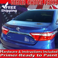 For 2015 2016 2017 Toyota Camry ABS Factory Style Spoiler Lip Wing PRIMER