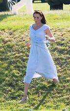 BNWT ZARA BLUE STRIPE OFF THE SHOULDER DRESS SIZE XL
