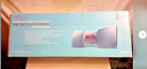 Delphi SiriusXM Satellite Radio Skyfi2 Audio System & Boombox SA10001 Portable