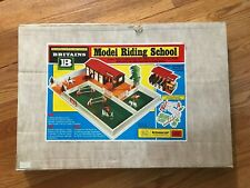 1976 BRITAINS MODEL RIDING SCHOOL #4174 NEW IN BOX, NEVER PLAYED WITH