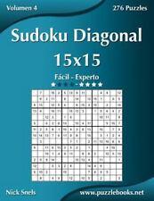 Sudoku Diagonal: Sudoku Diagonal 15x15 - de Fácil a Experto - Volumen 4 - 276...