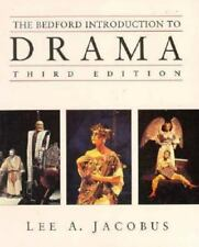 The Bedford Introduction to Drama (Third Edition), Jacobus, Lee A., 0312134045,
