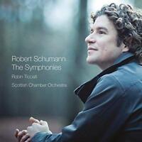 Robin Ticciati Scottish Chamber Orchestra - Schumann: The Symphonies (NEW 2CD)
