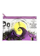 Disney The Nightmare Before Christmas Cosmetic Pencil Case Zip Tote Bag NWT!