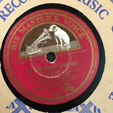 "TONY MARTIN - I Get Ideas/ Do You Really Love me 78rpm 10"" Shellac Record (7041)"