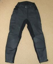 FRANK THOMAS Leather Motorcycle Trousers Ladies 10