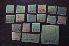 Bolivia  433 - 450  VF VLH OG  Complete Set