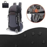 Hiking Camping Bag Travel Folding Climbing Rucksack Backpack Waterproof Pack 35L