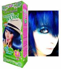 Just Modern Colourful WOW Permanent Hair Dye Colour Cream #J9 Indigo Blue