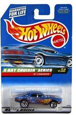 1999 Hot Wheels #947 X-Ray Cruiser Series '67 Camaro 5 spoke
