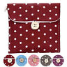 Polka-Dot Cotton Organizer Bag Storage Holder Sanitary Napkin Storage Bag Case S