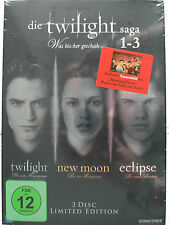 Die Twilight Saga 1-3 - Was bis(s)her geschah - Fan Edition Sammlung - Pattinson
