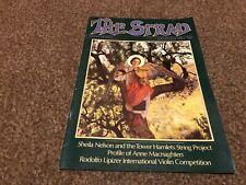 (SRD1) STRAD MAGAZINE COVER PAGE 1983 DECEMBER