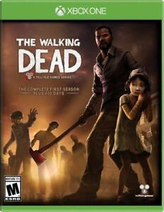 Walking Dead The Complete First Season Xbox One NEW SEALED DISPATCHING BY 2 P.M.
