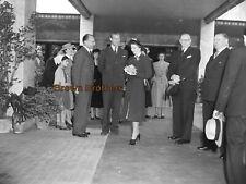 1940 Queen Elizabeth & Prince Philip Film Photo Camera Negatives #1 (4 Negs)