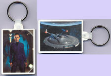 NEW RARE KEYRING from Star Trek: Enterprise Ensign HOSHI SATO and NX-01 MINT!