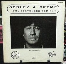 GODLEY & CRÈME Cry Extended Remix Maxi-Single NM//EX Condition