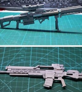 Gundam RGM-79S Weapon Sniper Rifle GK Conversion Kits 1:100