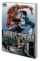 DAREDEVIL VS PUNISHER MEANS AND ENDS TP NEW PTG COL #1-6 TPB MARVEL COMICS NEW