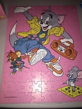 Tom & Jerry 100-pc Puzzle Cat & Mouse Party Dancing Radio TV Cartoon 1990 100%