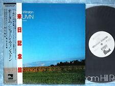 GEORGE WINSTON Autumn C28Y5001 JAPAN LP w/OBI 100az10