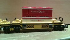 LEGO® City Eisenbahn Container Doppeltiefladerwaggon MOC bricktrain 10170