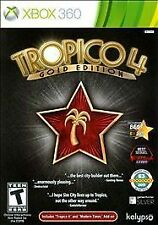 Tropico 4 -- Gold Edition (Microsoft Xbox 360, 2012) *new,sealed*