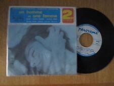 """Sophie Renaud Et Olivier Robin  – Un Homme Et Une Femme OST - Belguim 7"""" 1966"""
