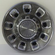 "Plymouth Division Hub Cap 14"" Wheel Covering Metal Finish 1960's 1970's OEM USA"