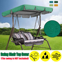 Swing Chair Top Cover Replacement Canopy Porch Park Patio Outdoor Garden