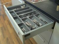 Quality Plastic Cutlery Trays Kitchen Drawers Blum Tandembox Inserts