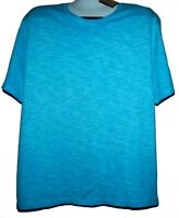 Noize Turquoise Men's Cotton T-Shirt Shirt Size XL NEW