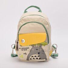 Anime My Neighbor Totoro Backpack Totoro Canvas School Bag Travel Bag Rucksack
