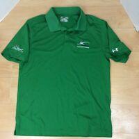Under Armour Loose Heat Gear Golf Polo Shirt Men's Size Medium Short Sleeve