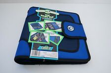 """Case-it The Open Tab 3-Ring Binder 2"""" Capacity Blue"""