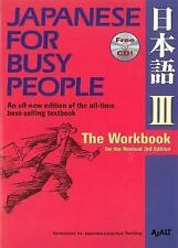 Japanese For Busy People 3 Workbook by AJALT, NEW Book, (Paperback) FREE & Fast