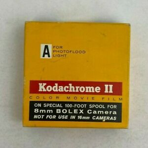 Kodachrome II 100ft. 8mm Color Movie Film - KRA461 Exp.12/1966 - Sealed/Unopened