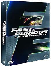 FAST AND FURIOUS - COFANETTO 7 FILM (7 DVD) EDIZIONE ITALIANA
