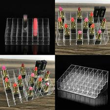 Clear 40 Makeup Cosmetic Lipstick Storage Display Stand Rack Holder Organizer UK